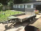Ifor Williams GX106 10 x 6 3500kg Twin Axle Plant Trailer