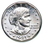 1981 D. SUSAN B ANTHONY Dollar Coin MINT STATE