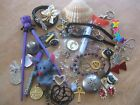 LARGE junk drawer lot of random stuff collectibles or stuff for ART ASSEMBLAGE