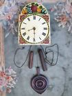 Antique English Wooden Clock Very Old