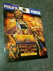 Williams POLICE FORCE Pinball flyer- good original