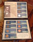 Historic Chronological Highlight Of The Lincoln Penny 1909 - 2009 In Folder