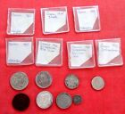 Greece  Mixed Dates 1869-1973 some silver   7 coin Lot