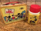 WEE PALS KID POWER COMIC METAL LUNCH BOX  Thermos 1973 Vintage