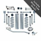Rubicon Express RE7000M 45 Super Flex Short Arm Lift Kit w Shocks for Wrangler