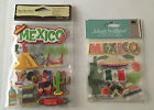 Lot of 4 Jolees and Recollections Mexico Travel Scrapbooking Stickers