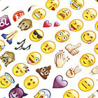 1Sheet 48 Die Cut Emoji Face Emotion Pack IPhone Android Laptop Decor Stickers