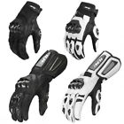 ILM Air Flow Leather Motorcycle Gloves Motocross Racing Glove For Men and Women