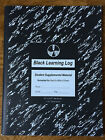 Reading Curriculum textbook Spell to Write and Read Black learning log