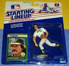 1989 DENNIS ECKERSLEY Oakland Athletics A's Rookie - low s/h - Starting Lineup