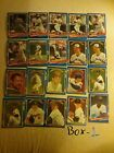 Box of 474 athlete trading cards, 1988-1998 Topps, Upper deck, Donruss, Victory