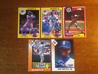 Ken Griffey Jr Starting Lineup SLU 5-card Lot: 1991 (x2) 1993 (x2)