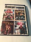 The Midnight Horror Collection Flesh Eating Zombies DVD 2010