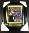 BRETT FAVRE WAVE AUTOGRAPHED FRAMED 8x10 PHOTO #2 GREEN BAY PACKERS SIGNED