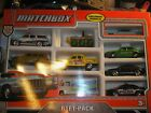 MATCHBOX 9 CAR GIFT PACK  EXCLUSIVE 1960'S CHEVY,K-9 UNIT SUV, TAXI 2014