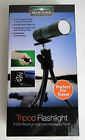 Adjustable 9 LEDTriPod Flashlight, NEW