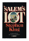 SALEMS LOT 1975 STEPHEN KING SIGNED 1ST EDITION EARLY PRINT FATHER CODY DJ