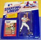 1988 WILL CLARK San Francisco Giants Rookie -low s/h- Starting Lineup not listed