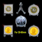 5 Easel Stand Holder For Commemorative Badge/Challenge Coin Display 30-60mm