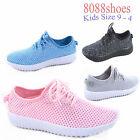 Youth Girls Super Light weight Memory Foam Running Athletic Shoes Size 9 4 New