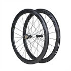 50mm Carbon Clincher wheels Road bicycle Powerway R36 Carbon hub 700X23c