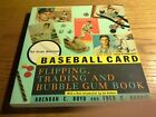 Great Vintage baseball cards book Flipping Trading and Bubble Gum Book