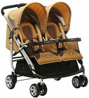 Zooper 2011 Tango Twin Stroller In Amber Yellow New Open Box!