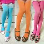 Girls Kid Stretch Tights Toddlers Pantyhose Velvet Casual Ballet Stocking Solid