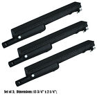 Replacement Cast Iron Grill Pipe Burner for Char Broil Gas Grill 3 pack