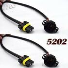 9006 to PX-24W 5202 Adapter Wires For HID LED Fog Light 10-16 for Jeep Wrangler