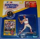 1991 CHRIS SABO Cincinnati Reds #17 - low s/h - Kenner Starting Lineup with Coin