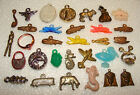 30 Vintage Gumball Machine Vending Charms +1 Fortune Teller Ring - Mixed Themes