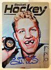 Bobby Hull 2017 Beckett The National Metal Autograph Auto SP 100 - BLACKHAWKS