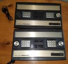 Lot of 2 Mattel Electronics Intellivision Model 2609 Game System Consoles