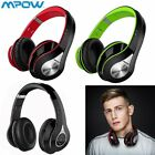 Mpow Universal Fashion Headphones Over Ear Wireless Headset Portable w Mic Lot