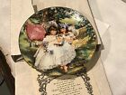 Storybook Memories 5th Plate by Sandra Huck Hearts and Flowers Collection