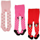 Disney Minnie Mouse Polka Dot Tights 3 Piece Variety Pack Baby Girls 0 24M