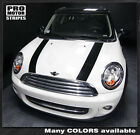 Mini Cooper Clubman Factory Style Hood Stripes Decals 2008 2009 2010 2011