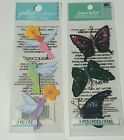jolees boutique lot of 2 spring scrapbooking stickers