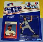 1988 MARK LANGSTON Seattle Mariners #12 Rookie - low s/h - Starting Lineup