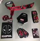 Marvel Deadpool Collectible Lanyard Dog Tags  Wristbands