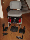 Jazzy Heavy Duty Power Chair power leg lifts multi speed hand control 24 seat