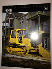 John Deere Model 450-H Crawler Dozer, Sales-specifications Brochure