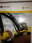 John Deere Model 350-D Crawler Excavator, Sales-specifications Brochure