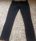 Candies Black Jean Style Pants Super Soft Size 7 High Waisted