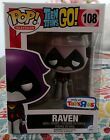 Funko Pop #108 Teen Titans Go! Raven (Gray) Toys R Us Exclusive NEW ON HAND
