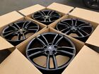 19 Tesla Model S black Factory wheels rims oem SET OF 4 NEW POWDER COATED SET