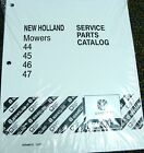 New Holland Tractor Service Parts Catalog  Mowers 44 // 45 // 46 // 47
