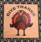 Recollections Give Thanks Turkey Stamp