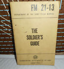 781-1961 US ARMY Field Manual FM 21-31THE SOLDIER'S GUIDE  Viet Nam Time Period